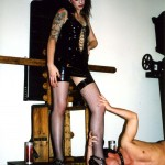 Mistress Ava and slave