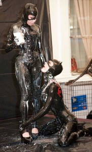 Rubber Catwoman